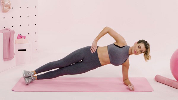 Tập Side Plank