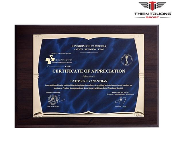 Bảng vinh danh 67092025B để trao thưởng, kỷ niệm giá rẻ Nhất