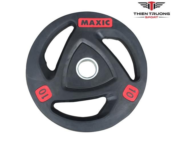 Tạ bánh Maxic bọc cao su chuyên sử dụng cho phòng tập Gym