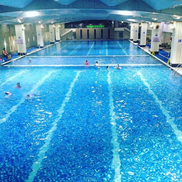 Bể bơi Hapu Swimming Pool
