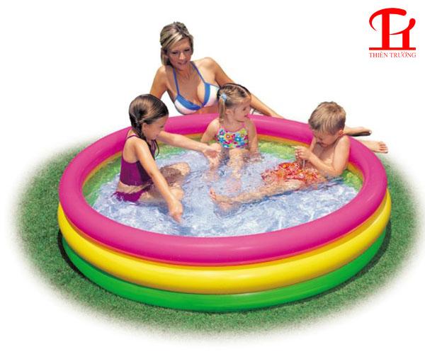 Bể bơi phao 3 tầng 1m47 Intex 57422