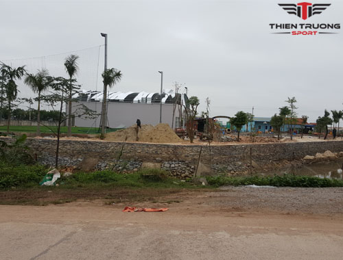 Thi công (làm) sân cầu lông tại Huyện Lệ Thủy - Quảng Bình !