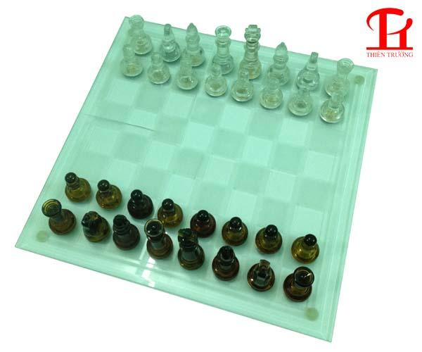 Bộ cờ vua thủy tinh cực đẹp giá rẻ nhất tại Thiên Trường Sport