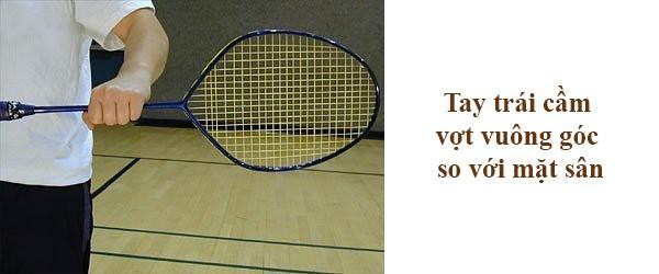 Cầm vợt cầu lông thuận tay - 1