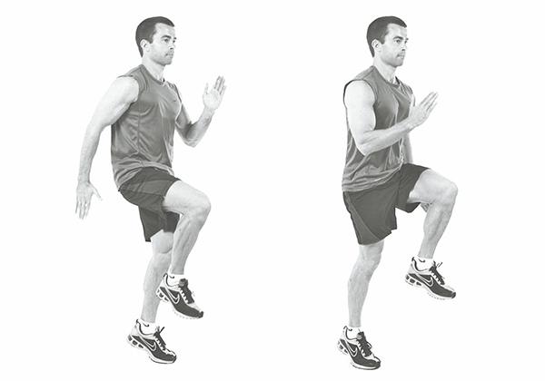Cardio chạy nâng cao gối