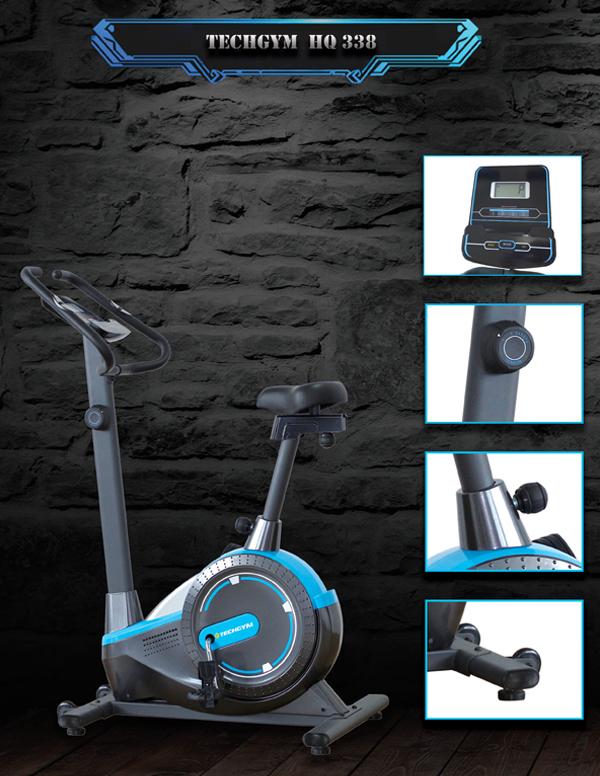 Cấu tạo xe đạp tập thể dục Techgym HQ 338
