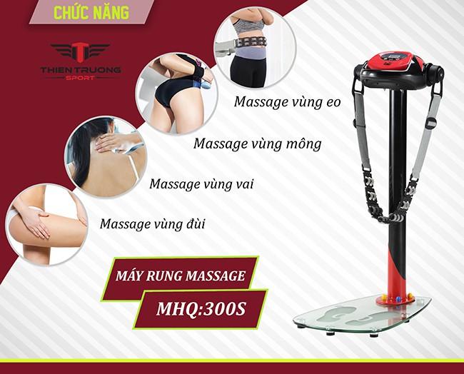 Chức năng máy massage MHQ 300S