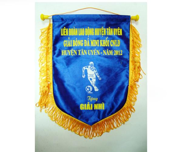 Cờ lưu niệm thể thao dùng trao giải và giá rẻ nhất ở Việt Nam !
