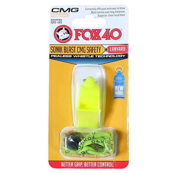 Còi trọng tài Fox 40 xanh chuối
