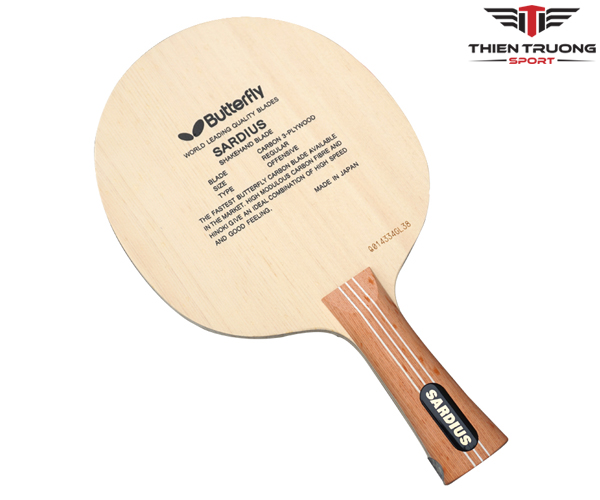 Cốt vợt bóng bàn Butterfly Sardius chính hãng và giá rẻ Nhất !