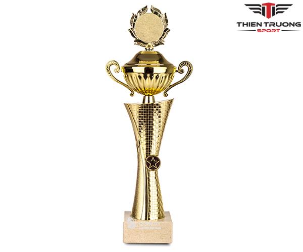 Cúp thể thao 8V0182 màu vàng giá rẻ tại Thiên Trường Sport !