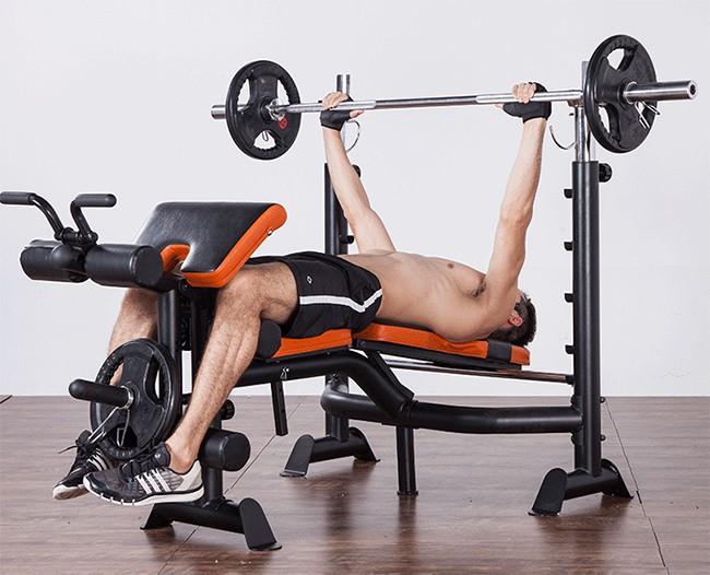 Đẩy ngực ghế tập tạ GM 4380