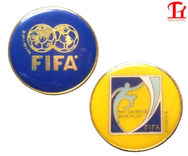 Đồng xu trọng tài FIFA dùng cho trọng tài bóng đá giá rẻ Nhất !