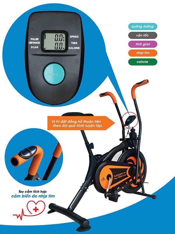 Đồng hồ hiển thị xe đạp tập MO 2060