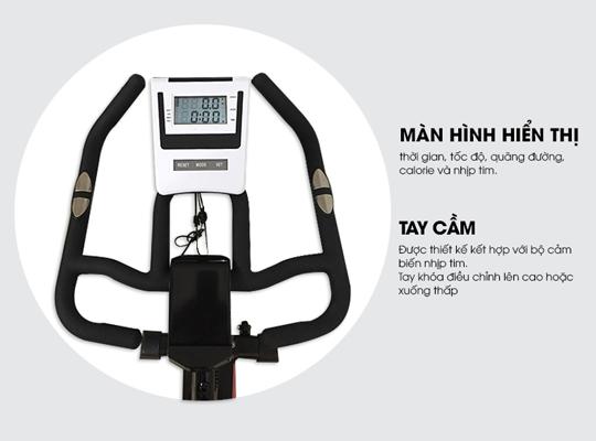 Đồng hồ xe đạp tập YB-7800