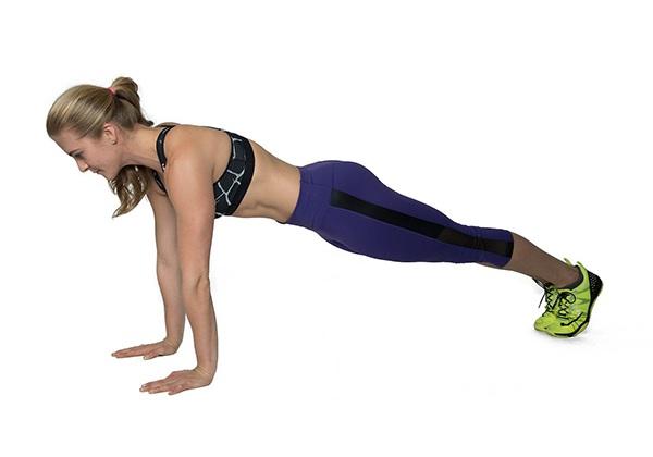 Động tác Plank cao