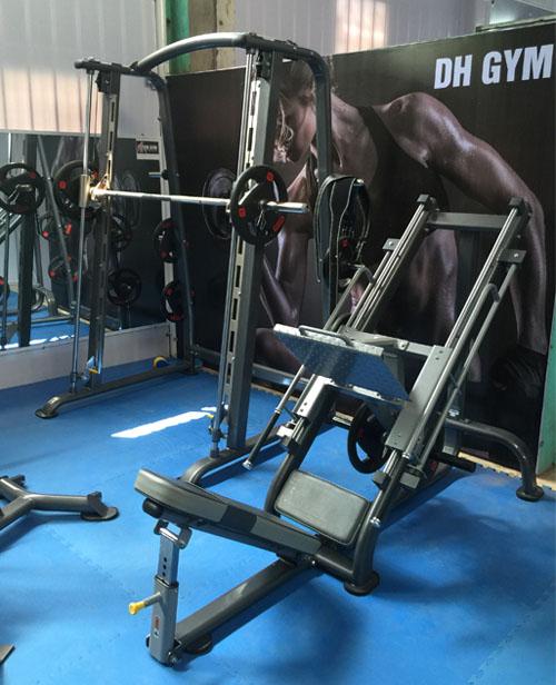 Dự án lắp phòng tập DH Gym