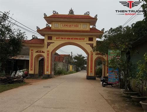 Dự án sân cầu lông tại Quảng Bình