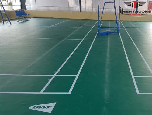 Dự án sân cầu lông tại Vĩnh Phúc