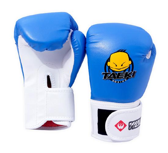 Găng tay boxing trẻ em Taeki xanh