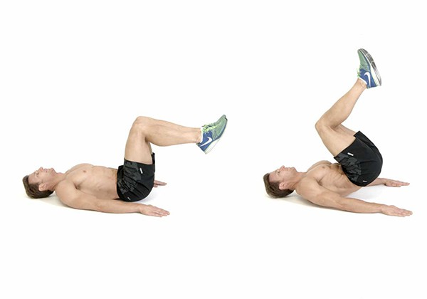 Gập bụng ngược giảm mỡ bụng