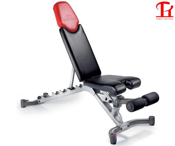 Ghế tập tạ Bowflex phù hợp sử dụng để tập Gym tại nhà