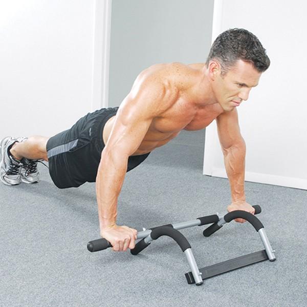 Hít đất với xà đơn Iron Gym 1557A