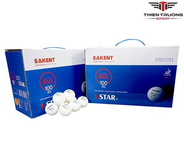 Hộp bóng bàn 100 quả Eakent tiêu chuẩn 40+ 1 sao giá rẻ Nhất