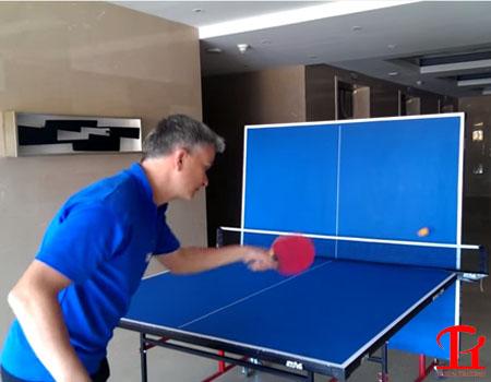 Hướng dẫn tập chơi bóng bàn một mình đơn giản hiệu quả Nhất