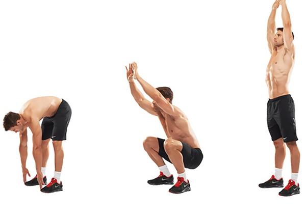 Khởi động giúp tập Gym không đau cơ