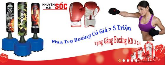 Khuyến mại mua trụ Boxing