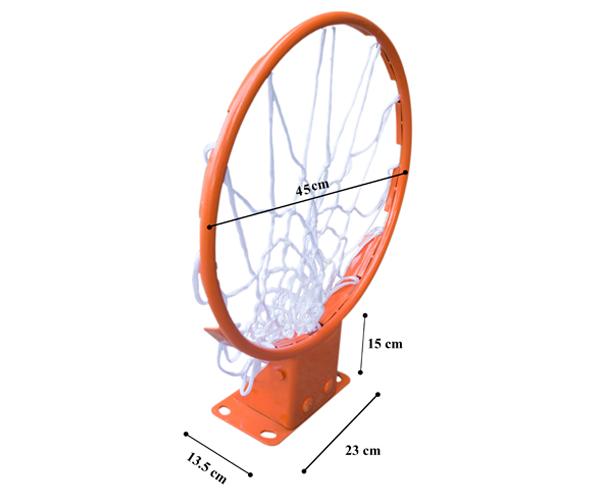 Kích thước vành bóng rổ thi đấu NK