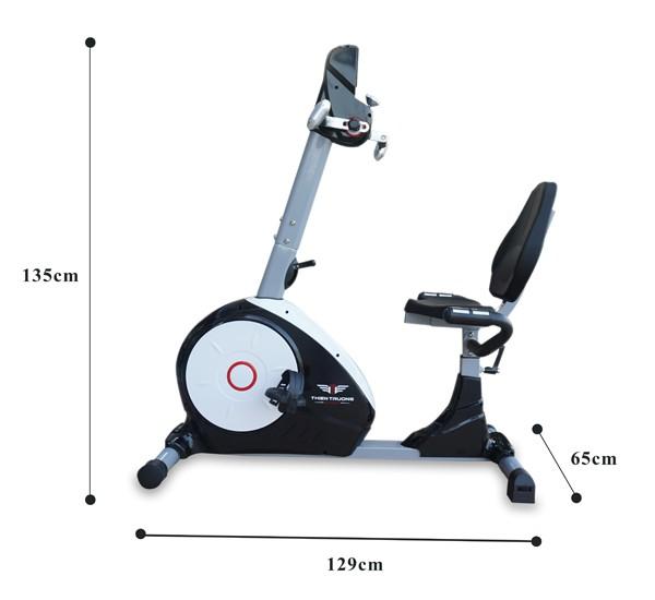 Kích thước xe đạp phục hồi chức năng K8602R