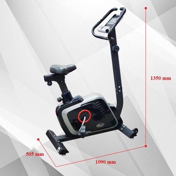 Kích thước xe đạp tập DLE 42816B