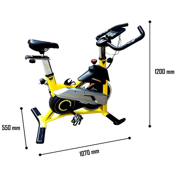 Kích thước xe đạp tập HQ-007
