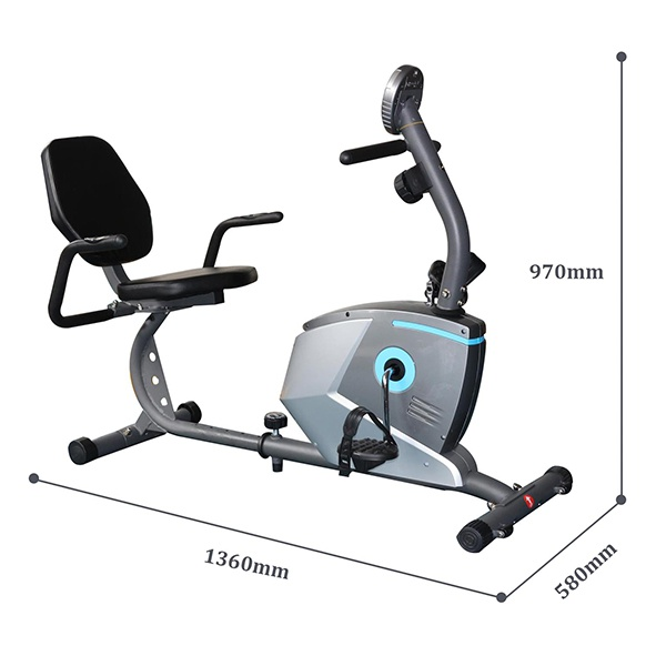 Kích thước xe đạp tập TechGym HQ-3200R