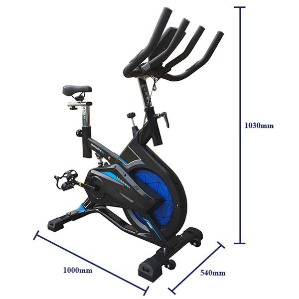 Kích thước xe đạp tập YB-9800