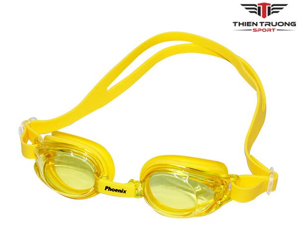 Kính bơi Phoenix PN 506 màu vàng đẹp và bảo vệ mắt cực tốt !