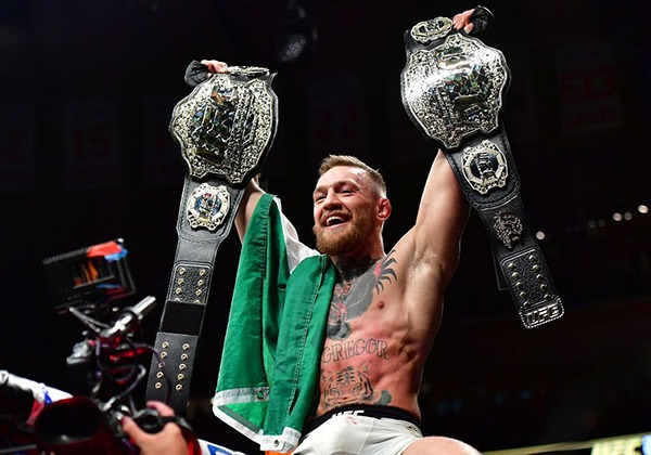 Kỷ lục gia Conor McGregor