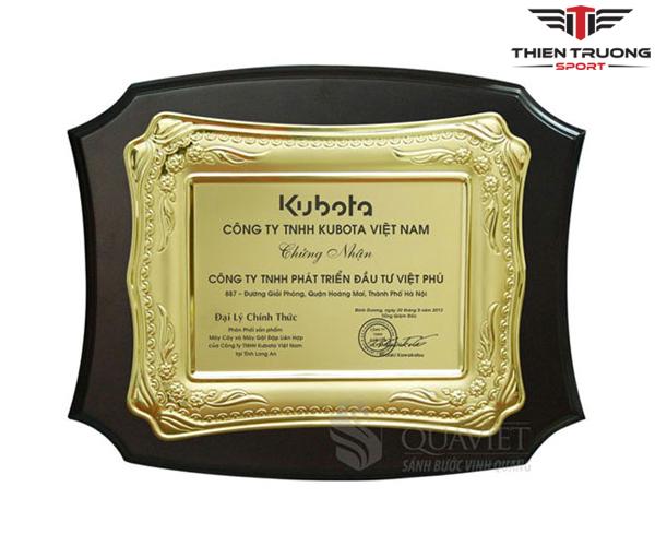 Kỷ niệm chương Luxury 68032733G mạ vàng đẹp và giá rẻ nhất