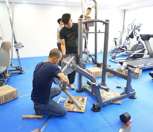 Lắp dặt phòng tập Gym tại Thái Hà