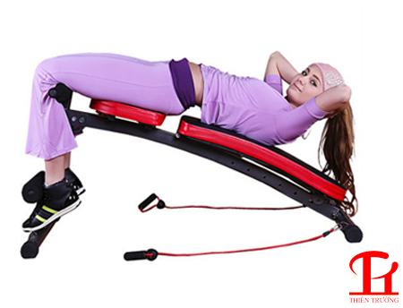 Lưu ý khi luyện tập với ghế cong tập bụng