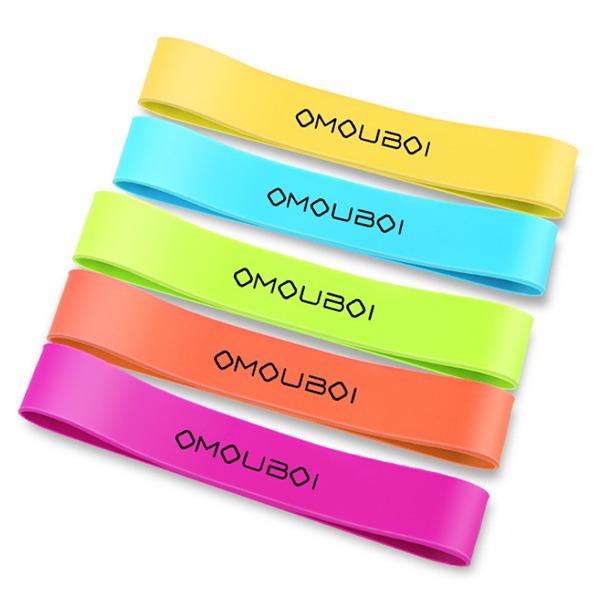 Màu sắc dây thun tập Gym Omouboi