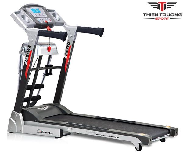 Máy chạy bộ điện Ustyle D246 giá rẻ nhất ở Thiên Trường Sport