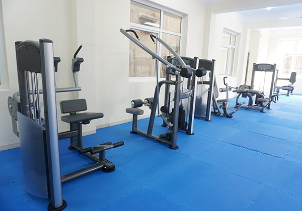 Máy tập Gym tại Đoàn nghi lễ Quân đội 1