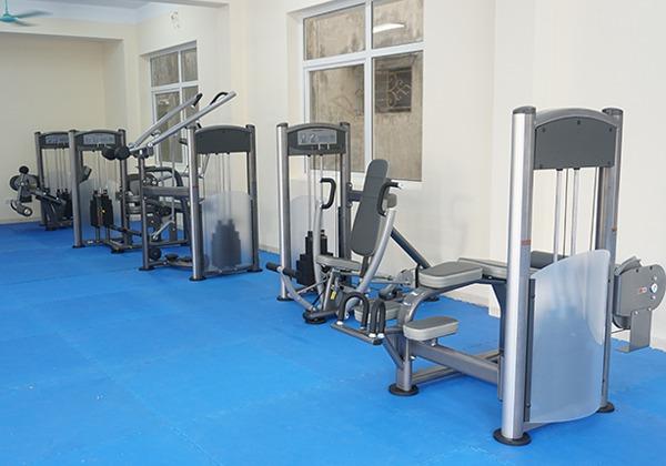 Máy tập Gym tại Đoàn nghi lễ Quân đội 2