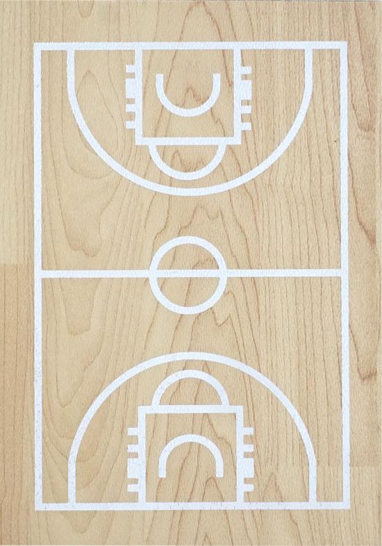 Mô hình thảm sân bóng rổ