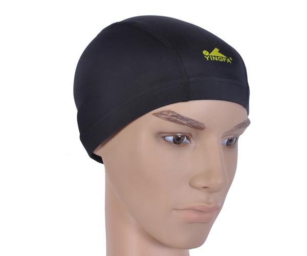 Mũ bơi vải Yingfa đen