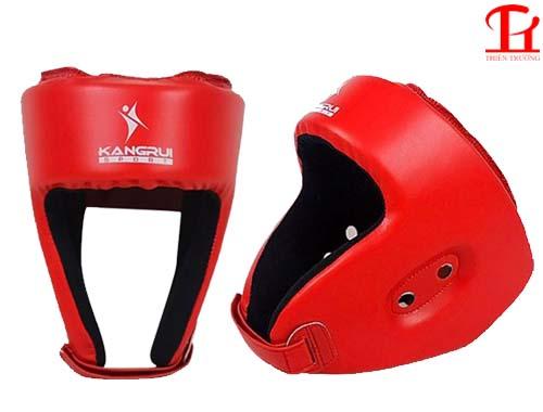Mũ võ thuật Kangrui KS511 màu đỏ