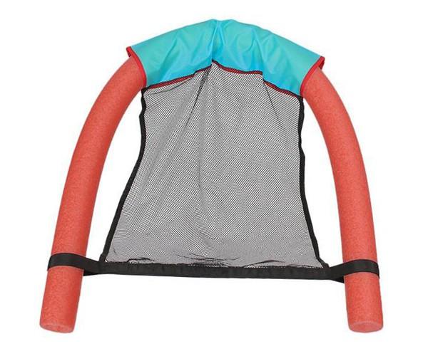 Phao bơi xốp dạng ghế Swimming Noodles Chair hồng